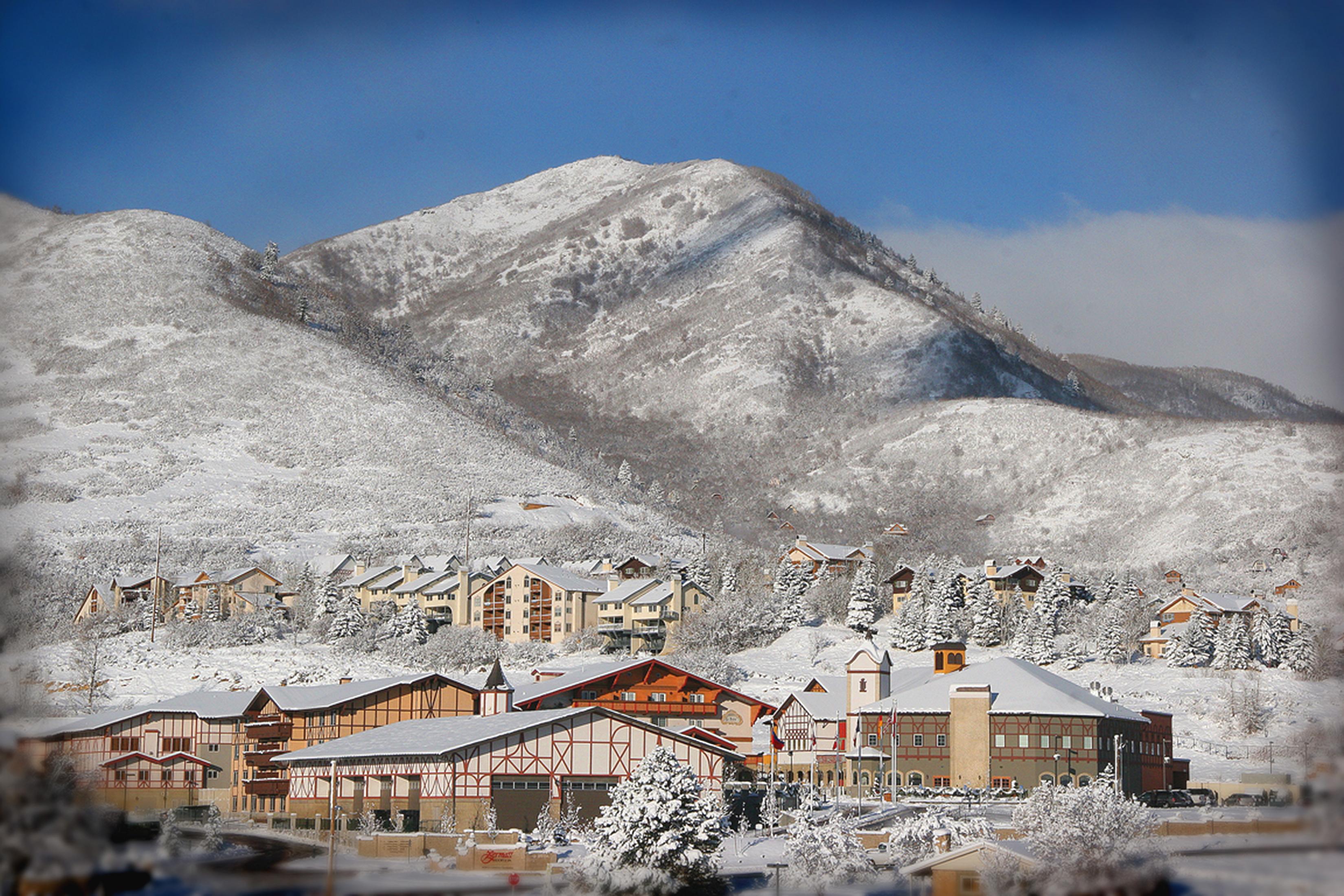 Das idyllische Heber Valley im Winter