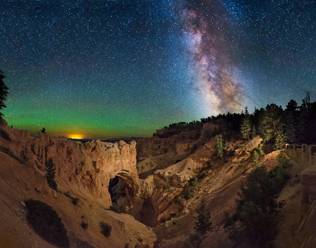 Der Nachthimmel über dem Bryce Canyon. Foto Credit Utah Office of Tourism