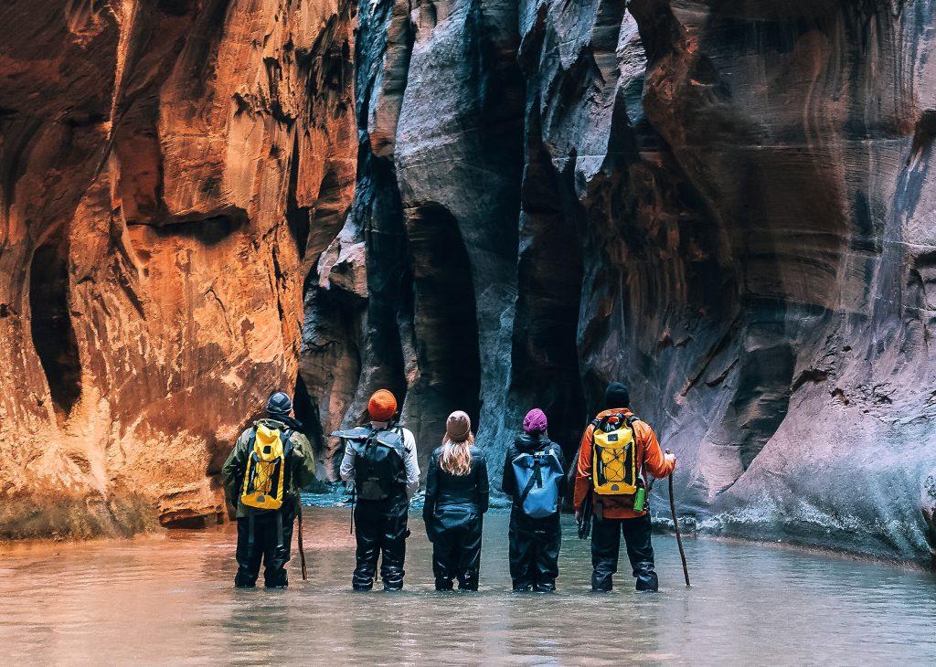 Wanderung durch die Narrows, Zion NP photo credit: Oscarwastaken