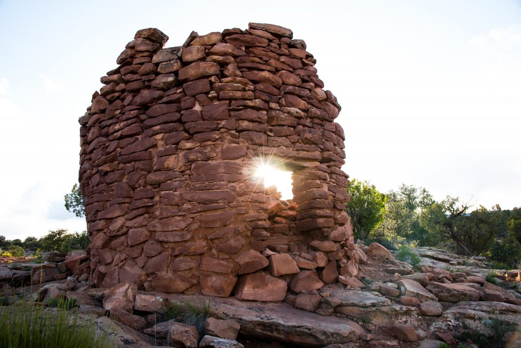 Cave Towers beim Ancients Scenic Byway in Utah; photo credit Sonja Doctorian I Utah Office of Tourism