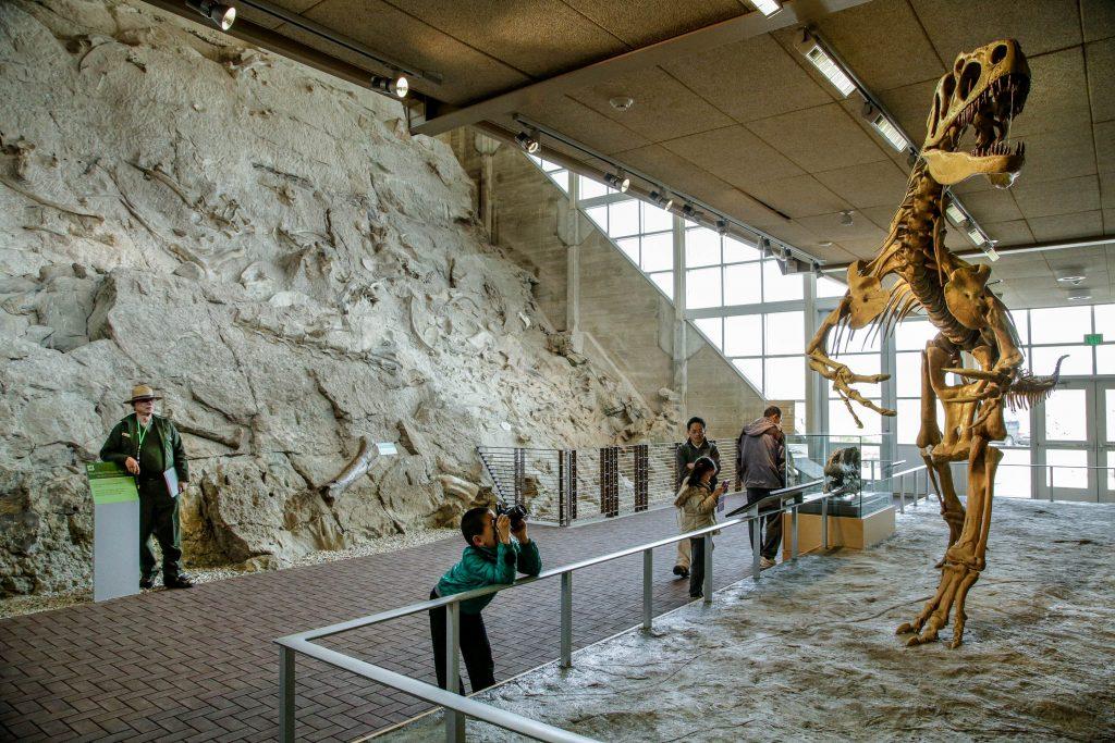 Dinousaur National Monument in Vernal; photo credit: Mark Osler I Utah Office of Tourism