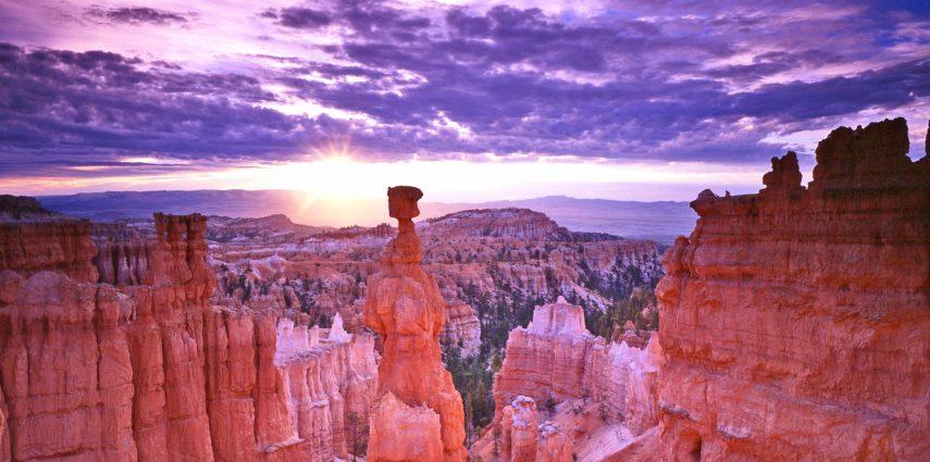 Die atemberaubende Landschaft des Bryce Canyon National Parks in Utah