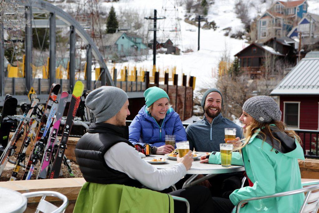 Après Ski in Park City. Foto Credit: Dan Campbell|Park City Chamber Bureau