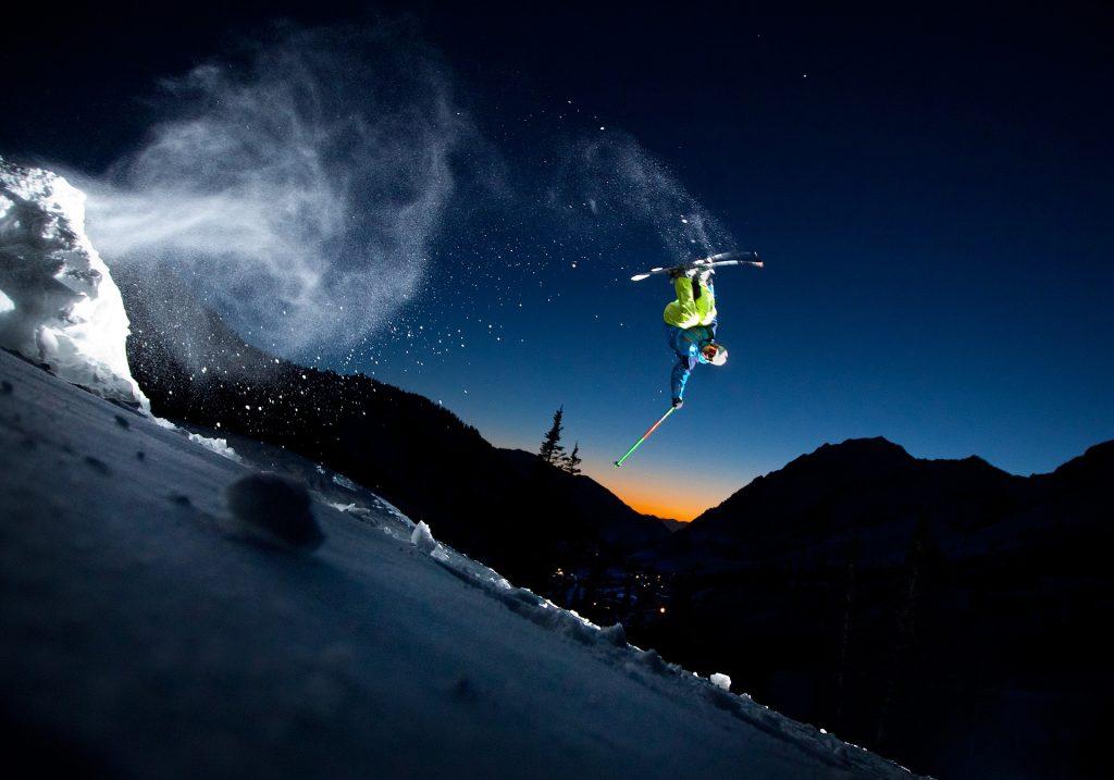 Nachtskifahren in Alta. Foto Credit Kevin Winzeler|Visit Salt Lake