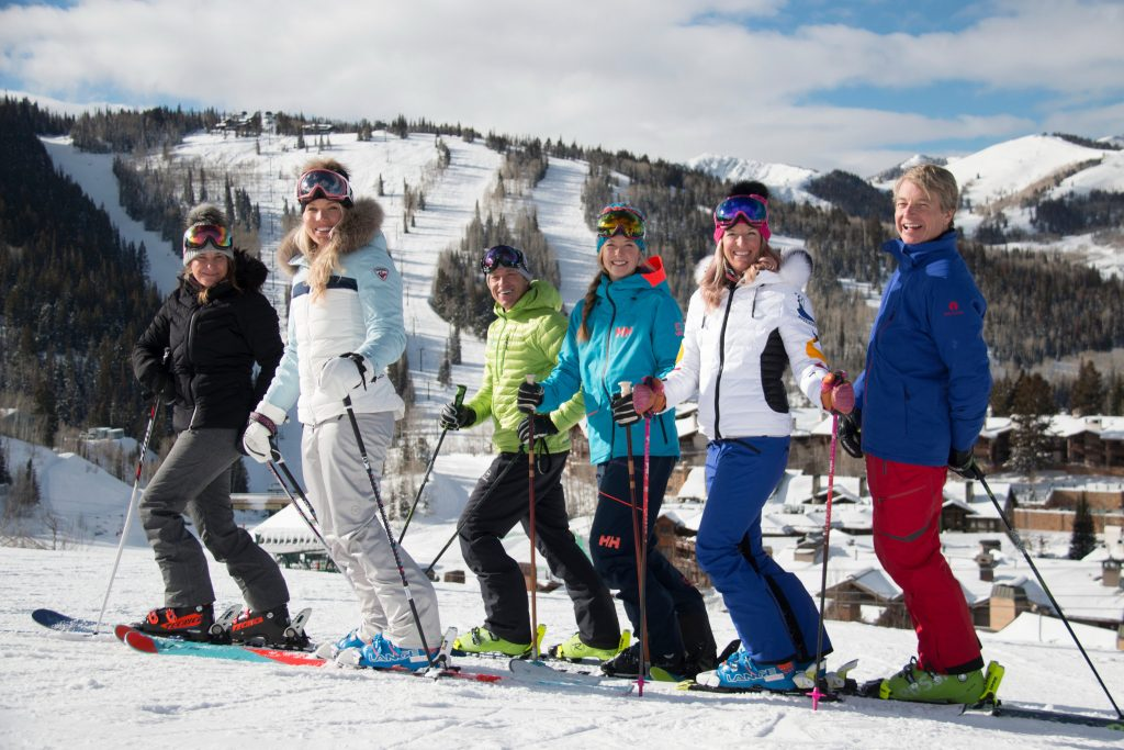 Deer Valley Resort Ski With A Champion Programm, Foto Credit: Deer Valley Resort