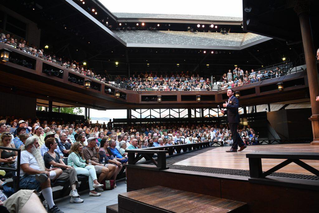 Das Engelstad Shakespeare Theatre. Foto Credit Utah Shakespeare Festival, 2017