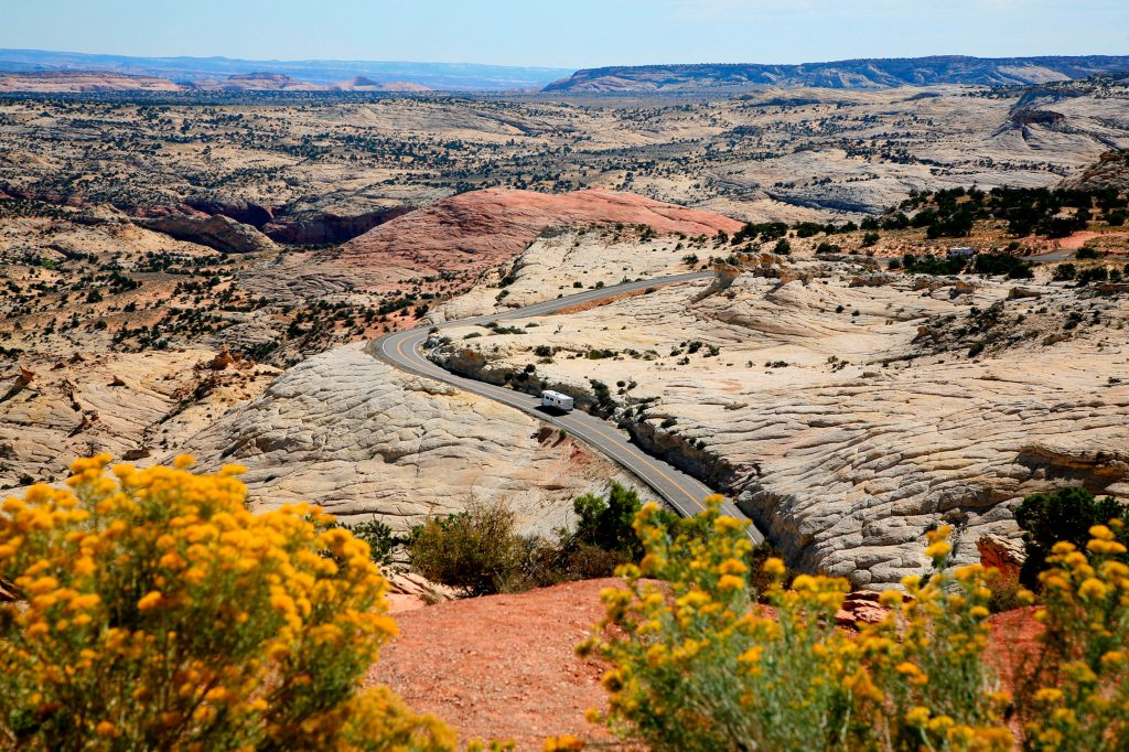 Highway 12 Scenic Byway, in der Nähe von Escalante; photo credit Utah Office of Tourism