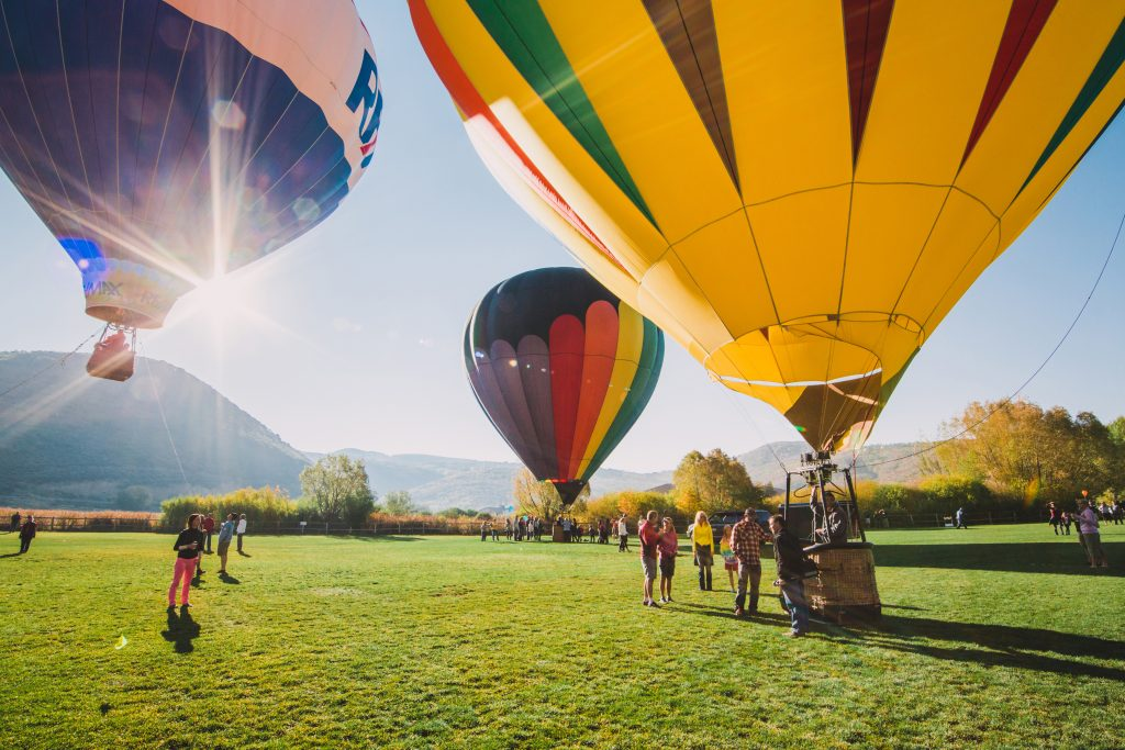 Autumn Balloon Festival in Park City. Photo credit: Visit Park City