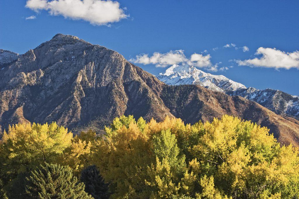 Sugarhouse Park im Herbst in Salt Lake City, Utah. Photo credit: Douglas Pulsipher I Utah Office of Tourism
