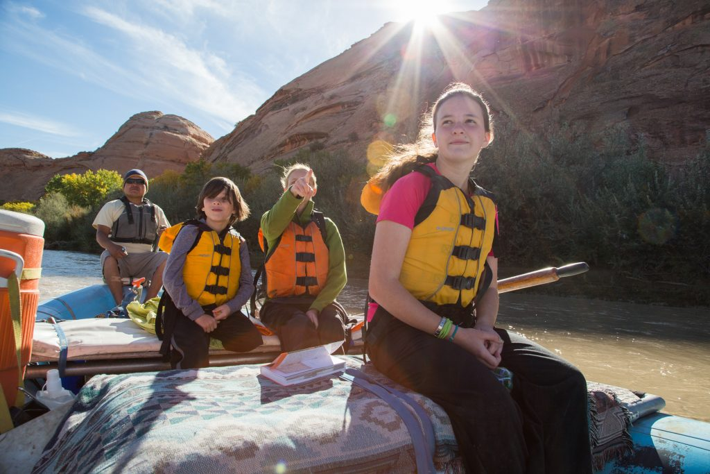 Foto: Rafting auf dem San Juan River. Credit: Matt Morgan │Utah Office of Tourism