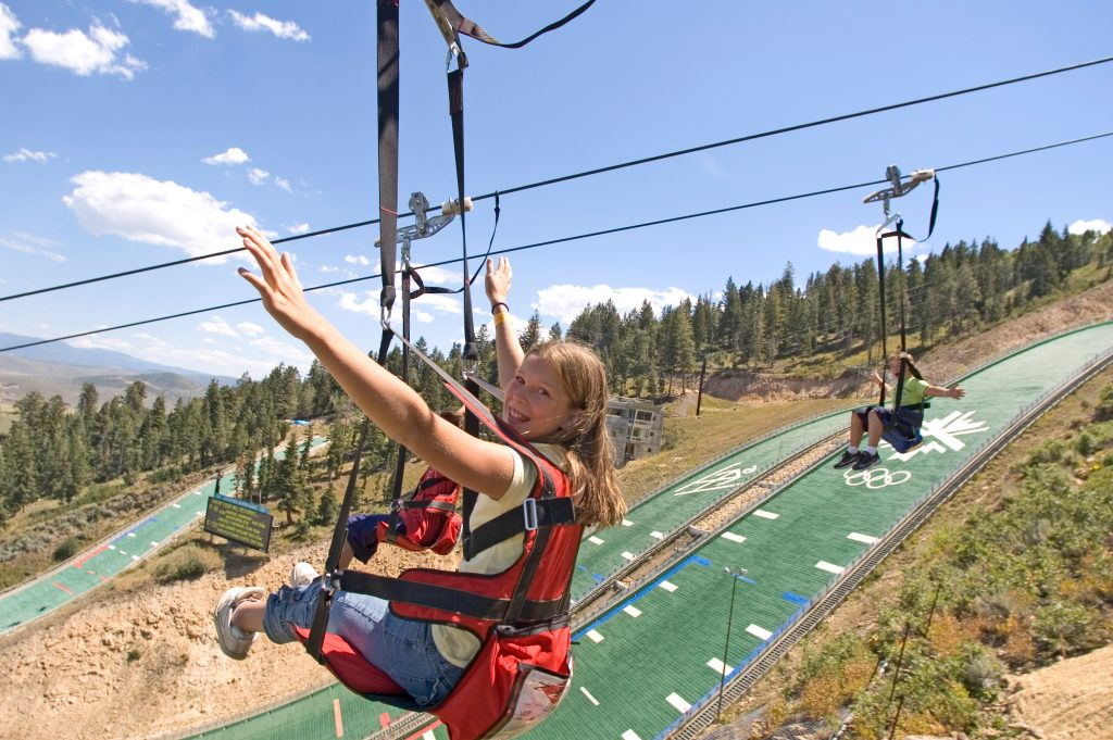 Foto: Ziplining in Park City. Credit: Mark Maziarz │Park City Chamber Bureau