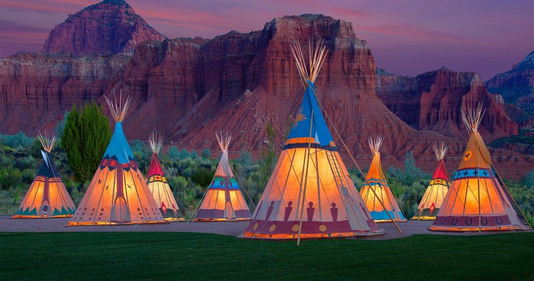 Tipi_CR_Capitol Reef Resort